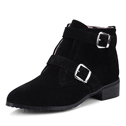 BalaMasa Abl10674, Sandales Compensées Femme Noir