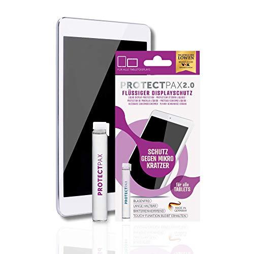 ProtectPax Tablet Flüssiger Displayschutz aus die Höhle der Löwen - 1er Set - für alle Apple Ipad Samsung Tablets Nano Versiegelung Schutzfolie Panzerglas - Mini Gb 128 Ipad 2 Cellular