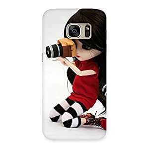 Gorgeous Dolly Pic Multicolor Back Case Cover for Galaxy S7