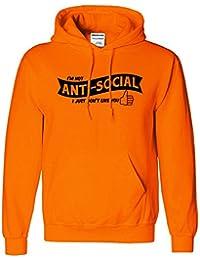Anti Social I'm Not Just Dont Like You Enfants Filles Garcons Hoodie