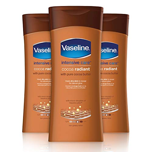 Vaseline Essential Moisture Cocoa Radiant Lotion 200ml Pack of 3
