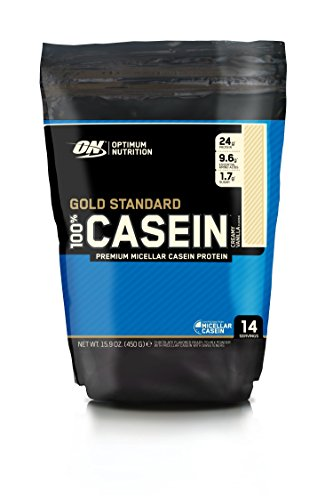 OPTIMUM NUTRITION 100% Gold Standard Casein Protéine Vanille Crémeuse 450 g