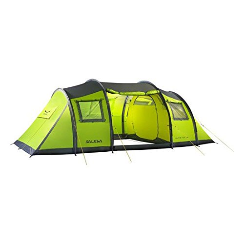 SALEWA Erwachsene Zelt ALPINE HUT III, Cactus/Grey, One Size, 00-0000005613