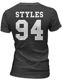 Styles 94 T-Shirt Backprint Girls Black