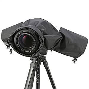 EzFoto Camera Rain/Snow Cover Protectors for Pro Digital SLR Camera with up to 200mm lens installed for Canon, Nikon, Olympus, Panasonic, Pentax, Sony, Fujifilm, Simga Digital SLRs