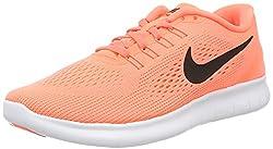 Nike Damen Free RN Laufschuhe, Orange (Bright Mango orange/Black Sunset Glow), 40 EU