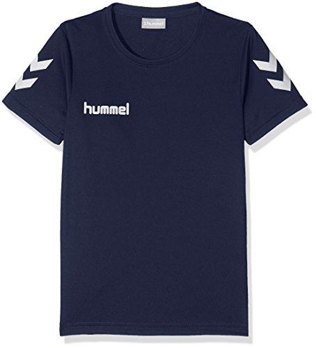 hummel Kinder CORE Polyester Tee T-Shirt, Marine, 164-176