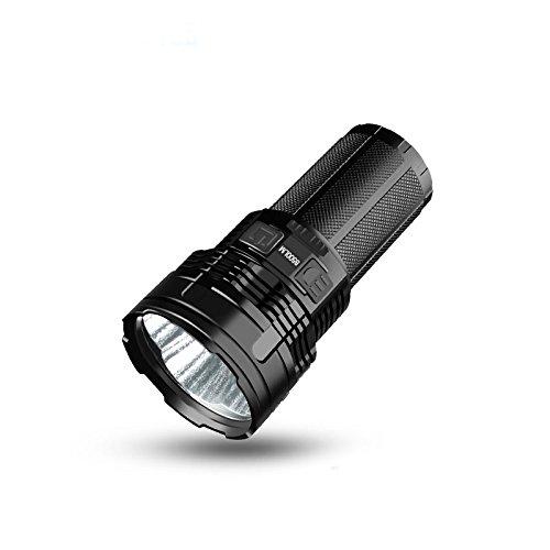IMALENT DT35 Projecteur rechargeable lampe de poche haute puissance lampe torche CREE LED 8500 lumens avec affichage numérique, adapté à la pêche
