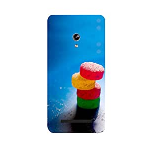Phone Candy Designer Back Cover with direct 3D sublimation printing for Zenfone 5