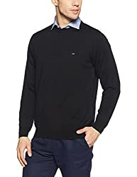 Monte Carlo Mens Wool Sweater (8907678014310_1170504RN-118-40_Black)