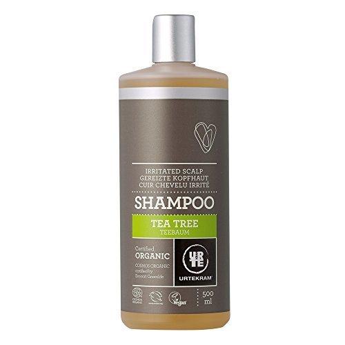 Bella Shampoo (Bio Teebaum Shampoo von Urtekram für gereizte Kopfhaut, 500 ml)