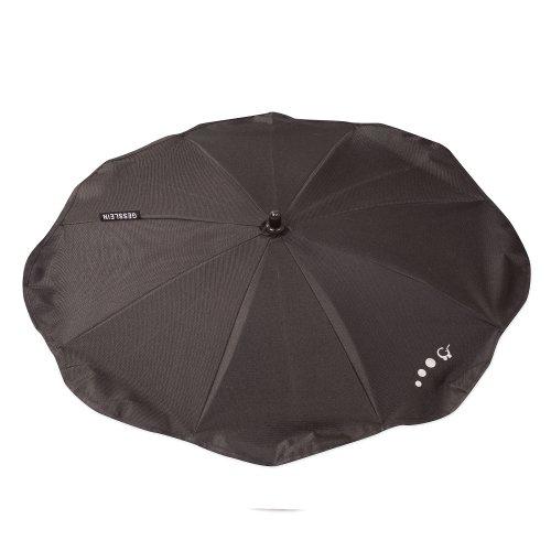 Sonnenschirm mit Universalhalterung von Gesslein - Sonnenschutz für Kinderwagen & Buggys│70cm Durchmesser, biegsam, für Rund- und Ovalrohre