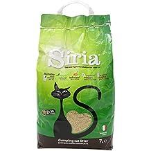 Siria - Aglomerante para arenero de gato a base de raspa de maíz, 3 bolsas