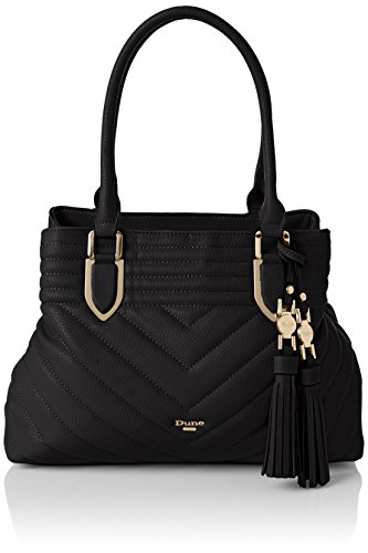 Dune Damen DKARA Gesteppte Einkaufstasche Schwarz Größe One Size Schwarz -