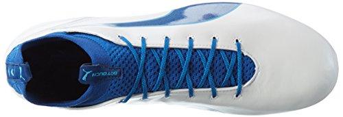 Puma Evotouch Pro Mx Sg, Chaussures de Football Homme Blanc (Puma White-true Blue-blue Danube 02)
