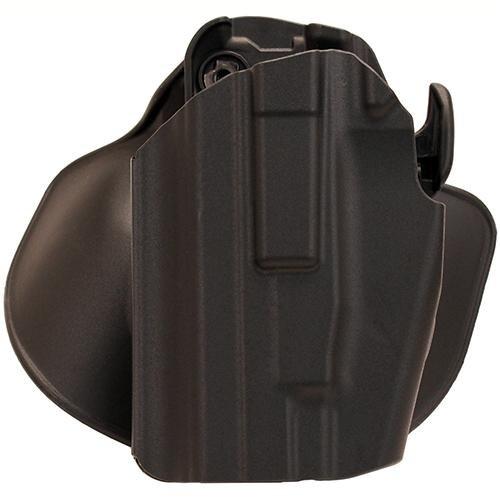 Safariland 578 7TS GLS Pro-Fit, Standard Frame, Compact Slide, Paddle & Belt Loop Holster, Plain Black, Left Hand by Safariland Duty