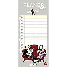 Loriot Planer für zwei - Kalender 2017