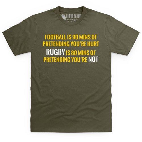 Pretend T-Shirt, Herren Olivgrn