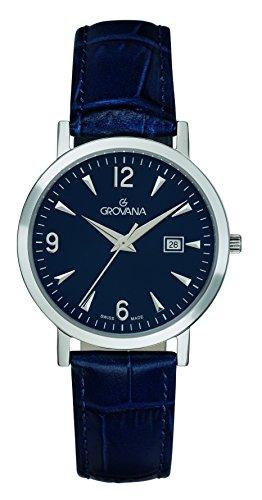 GROVANA Women's Analogue Quartz Watch with Leather Strap 3230.1535