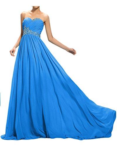 ivyd ressing robe ligne traîne pierres de haute qualité Forme de cœur A Prom Party robe lanf robe du soir bleu foncé