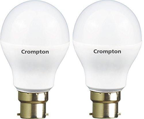 Crompton 7WDF B22 7-Watt LED Lamp (Cool Day Light and Pack of 2)