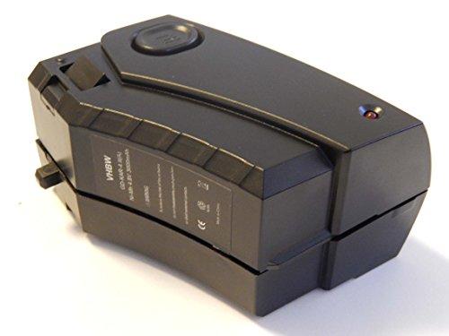vhbw Batería Ni-MH 3000mAh (4.8V) para aspirador robot de limpieza Kärcher K65 Plus como 28100010, 6.654-118.0.