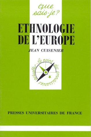 Ethnologie de l'Europe