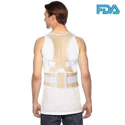 G-Smart - Corrector de espalda, magnético, ajustable, ideal para corregir la postura M