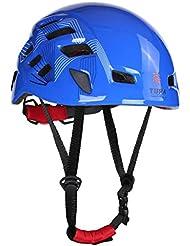 1 pcs Casco De Escalada Rappel Proteger Engranaje Al Aire Libre Del Alpinismo De Seguridad - Azul