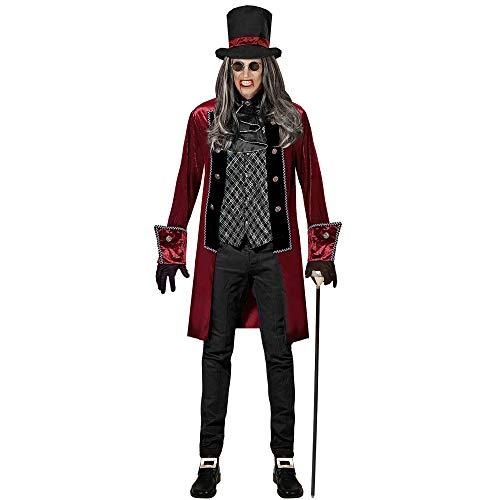 Widmann 07664 Erwachsenenkostüm Viktorianischer Vampir, XL