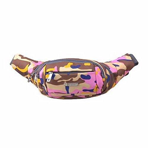 Mode, Sport, Frauen, Wasserdichte Tarnung Tasche, Outdoor-Tasche Violet