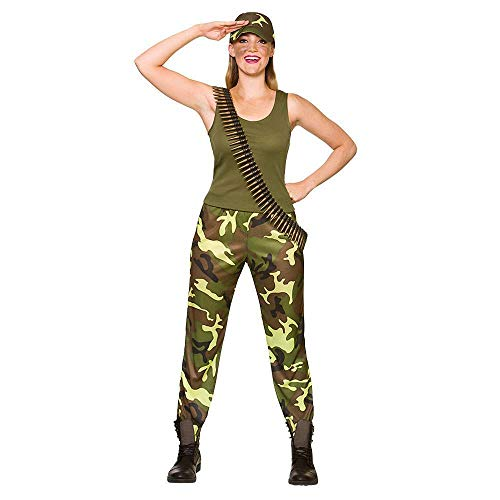 Army Girl Medium for Military and Uniform Fancy Dress Costume