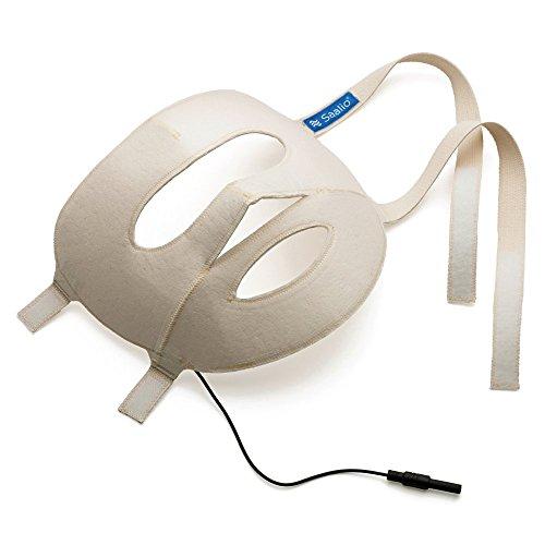 Saalio® Gesichtsmaske mit Graphitfasern für Saalio® DE Iontophorese Set. Auch als Saalio® FA Komplettset gegen Schwitzen im Gesicht