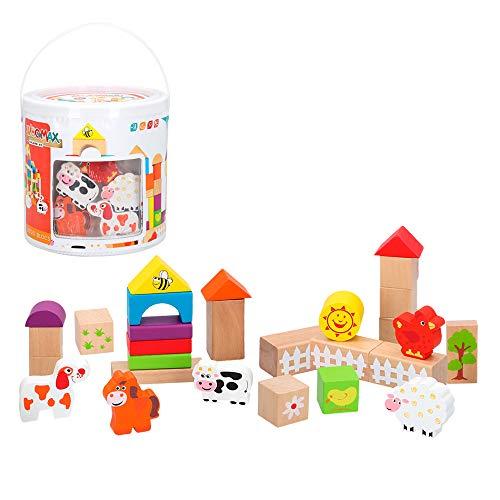 ColorBaby - Cubo 50 bloques y figuras