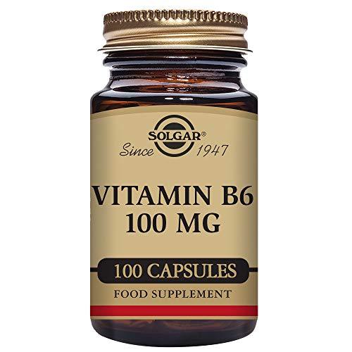 Solgar Vitamina B6: Reduce el cansancio y la fatiga - 100 Cápsulas