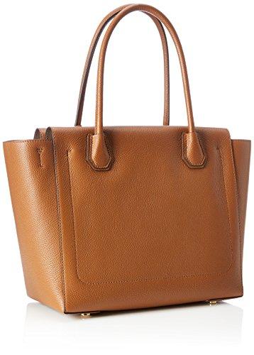 Michael Kors Mercer, Borsa a Spalla Donna, 30.5 x 25.4 x 16.5 cm (W x H x L) Marrone (Luggage)