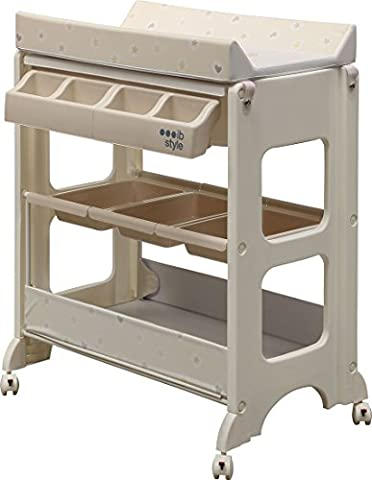 IB-Style - Changing table and bath | 7 decors | baby storage bath | tub unit -