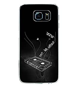 PrintVisa Music Is Everything High Gloss Designer Back Case Cover for Samsung Galaxy S6 G920I :: Samsung Galaxy G9200 G9208 G9208/SS G9209 G920A G920F G920FD G920S G920T