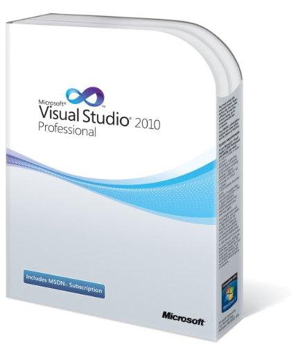 Microsoft Visual Studio 2010 Professional, Englisch Visual Studio 2010 Software