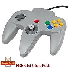 Grey Controller For Nintendo 64 N64 Game pad Joystick MarkUK®
