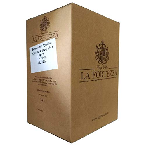Vino Aglianico IGT del Beneventano 12° - Bag in Box 5 litri - La Fortezza