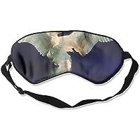 Sleep Eye Mask Swan Swimming Lightweight Soft Blindfold Adjustable Head Strap Eyeshade Travel Eyepatch preisvergleich bei billige-tabletten.eu
