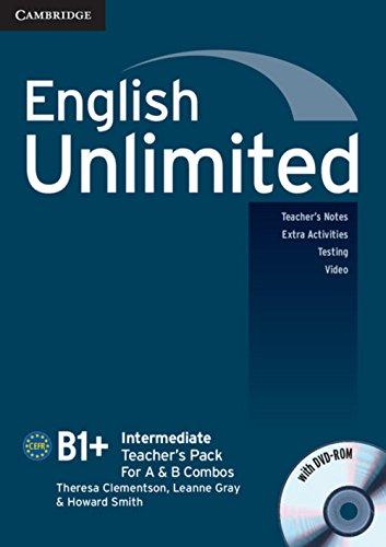 English Unlimited: Intermediate Teacher's Pack (Teacher's Book + DVD-ROM)