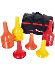 Precision Training fútbol cono marcador taladro - 24 x 22,86 cm Pro conos PVP £38