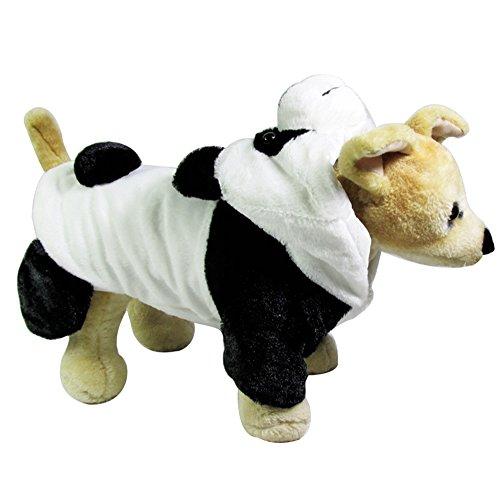 Icegrey Hund Panda Kostüm Weisehaustier Hoodie Overall Wintermantel Weiß XL