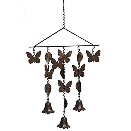La Grande Prairie Suspension Clochette Papillon 68x34 cm
