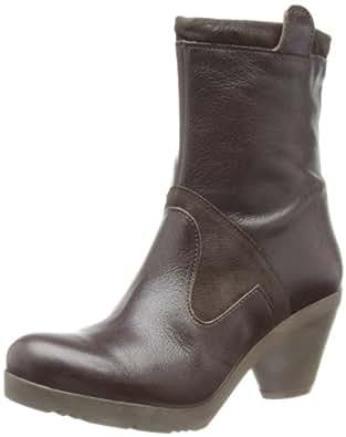 Fly London Womens Frid Brown Cowboy Boots P142749001 5 UK, 38 EU