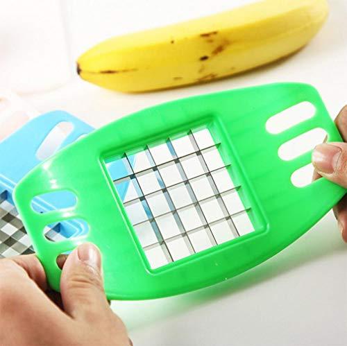 TAOtTAO Neue Gemüse Kartoffel Slicer Cutter Chopper Chips Machen Werkzeug Kartoffel Schneidwerkzeug (Grün)