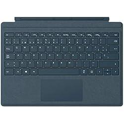 1 de Microsoft Surface Pro Signature M1725 - Funda con teclado, Azul Cobalto [España]