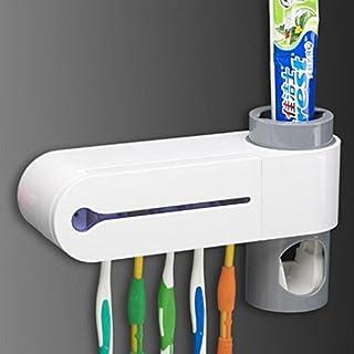Home Zahnbürstenhalter Qualität Zahnbürstenständer Zahnpasta-Organisatorständer für Badezimmer-Dentalbedarf von TheBigThumb